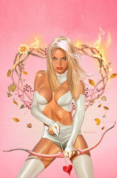Emma Frost by Greg Horn