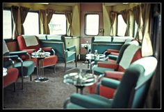 Observation Lounge on the California Zephyr