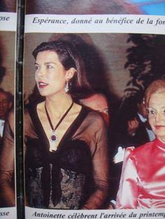 Noblesse & Royautés » La princesse Caroline de Monaco : rétrospective des Bals de la Rose