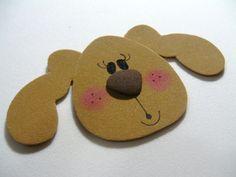 Bloquinho de cachorrinha com fitas Sinimbu - passo 6