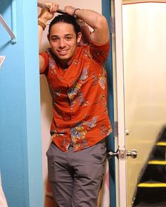 "Anthony Ramos-Hamilton. ""I love God. I'm Christian and I totally believe that there is a plan for everybody who walks on this earth. It's just about connecting with God and finding out what the plan is that He wants you to walk through, and walking through it keeping your head down and staying focused. I struggle like the next person. I was having a bad day today, but nobody knew that. I showed up to work and was feeling like I wasn't in it......."