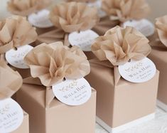 Personalised off white wedding favor boxes, gift boxes, baby showers, Baptism favor boxes, wedding favors Your place to buy and sell all things handmade Creative Wedding Favors, Inexpensive Wedding Favors, Honey Wedding Favors, Wedding Gifts For Guests, Elegant Wedding Favors, Personalized Wedding Favors, Wedding Party Favors, Sweet 16 Party Favors, Chocolate Wedding Favors
