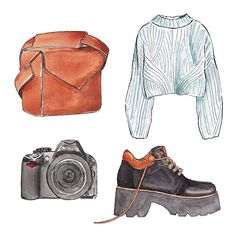 Good objects - Monday outfit #goodobjects @hardgraft @bernadetteshoes @hm
