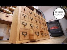 This little cabinet will test your ability and patience in woodworking but at the end you'll have one wonderful cabinet for generations to come.Happy...