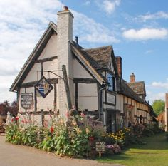 And don't forget to visit the local pub while you're there. The Fleece Inn has been serving locals since the 13th century and is owned by the National Trust: