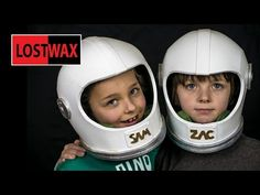 How To Make A Space Helmet, DIY Astronaut Halloween Costume From Foam! - YouTube