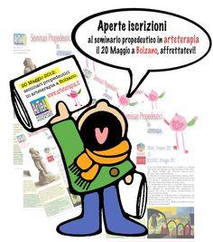 20 maggio 2012: seminario propedeutico in arteterapia a Bolzano. Per informazioni e iscrizioni telefonare al numero 0289408101 e scaricare la cedola da www.arteterapia.it
