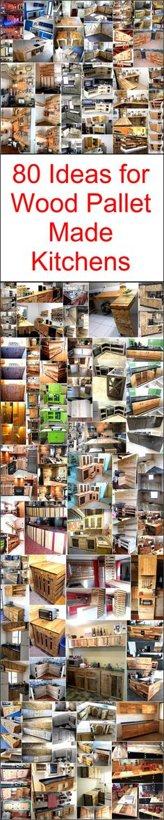 A modern kitchen is typically equipped with the sink, cabinets, shelves and a stove area. Crafting a beauteous pallet kitchen craft is gaining popularity all around the world, so why not to try these popular ideas at home? Well, here we have countless captivating pallet wood kitchen plans that are made with the recycling of old pallet boards.