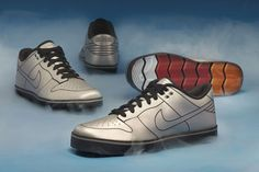 Extremely limited edition DeLorean Nike 6.0 Dunks.