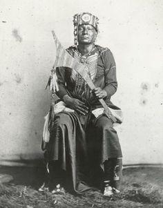 Osage man - circa 1865