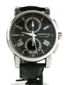Watch Montblanc Star 4810 Automatic Chronograph 44mm - Black Dial