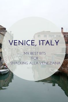 Check out my favorite cicchetti bars in Venice, Italy. Cicchetti are Venetian Tapas and not to be missed on any trip!