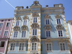 City of Steyr Steyr, Austria, Mansions, House Styles, City, Decor, Cities, Decoration, Manor Houses