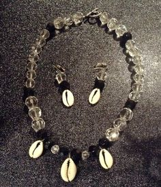 Timeless Elegance- Crystals and Cowries