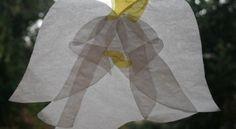 Decorazioni natalizie ANGELO TRASPARENTE - Lapappadolce