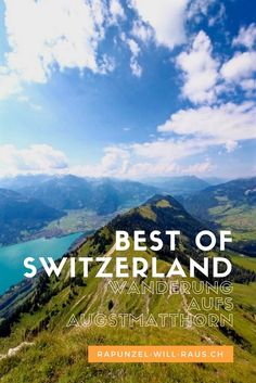 Von Interlaken über den Hardergrat zum Augstmatthorn | Rapunzel will raus Best Of Switzerland, Places In Switzerland, Hidden Places, Secret Places, Weekend City Breaks, Travel Around Europe, Reisen In Europa, Beautiful Park, Best Hikes