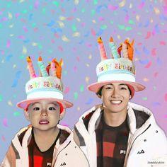Read Taehyung Day from the story Vkook, Imágenes, Mini Cómics Etc XD by Jossmilita (𝓙𝓸𝓼𝓼𝓶𝓲𝓵𝓲𝓽𝓪 。・:*:・゚☆) with reads. Bts Happy Birthday, Birthday Icon, Jung Kook, Kim Taehyung, Bts Jungkook, Daegu, Foto Bts, Taekook, Bts Birthdays