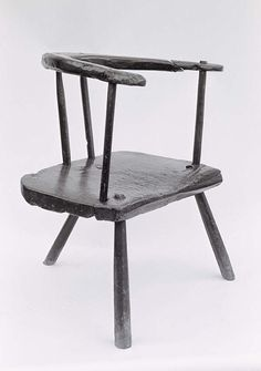 Welsh low back chair - simple