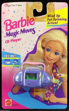 Vintage 1992 Mattel Barbie Magic Moves Wind Up  Food Processor new