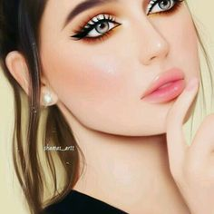 Cute Girl Drawing, Cartoon Girl Drawing, Cartoon Girl Images, Girl Cartoon, Hipster Drawings, Cute Drawings, Girly M Instagram, Ballet Hairstyles, Lovely Girl Image