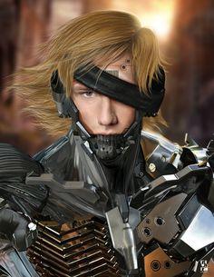 Image© RIVERA GRAPH 2013 Alex Pettyfer - Raiden Metal Gear - Revengeance