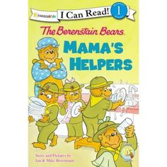 Trying to find a great way to serve your mom this Mother's Day? See how The Berenstain Bears help their mom out in Mama's Helpers:
