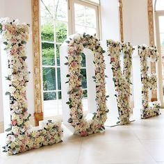 Wedding decor ideas LOVE # wedding decoration - All For Diy and Crafts Trendy Wedding, Diy Wedding, Wedding Reception, Dream Wedding, Wedding Ideas, Wedding Venues, April Wedding, Sydney Wedding, Table Wedding