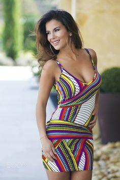 Marina - Beautiful girl in colorful dress