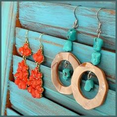 CRAFT FAIR LINKY PARTY: shutter earring storage