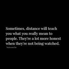 Distance...