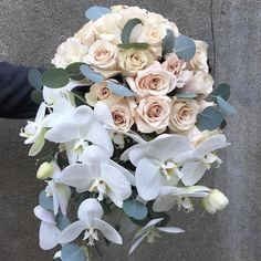 cool vancouver florist Cascading bridal for our beautiful bride Mary Anne. Loved her wedding. Great way to finish the year. Great team of vendors led by @revelevents . Can't wait to see the pro shots. The final bouquet had a touch of blue berry viburnum. #vancouverweddings #flowerfactory #cascadingbouquet #maandworm2015 by @flowerfactory  #vancouverflorist #vancouverwedding #vancouverflorist #vancouverwedding #vancouverweddingdosanddonts