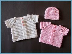 Premature babies are so precious .....   and they deserve a really special little baby top and matching hat.     Large Prema...