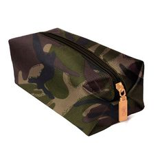 One Kings Lane - Gifts for Him - Nutz & Boltz Nylon Bag, Camo Military Inspired Fashion, Camo Fashion, Military Fashion, Mens Fashion, Military Style, Camouflage, Army Camo, Dopp Kit, Nylon Bag