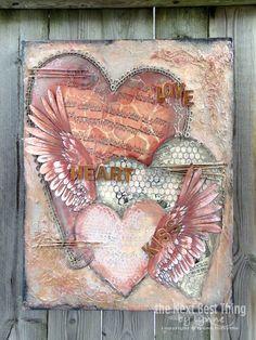 Love Heart.....Kiss by Lynne Forsythe