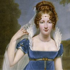 Gros, Antoine-Jean - Henriette Scherrer, comtesse Legrand, 1813 (detail)