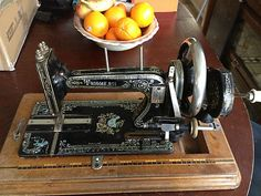 Antique Cast Iron Sewing Machine Hand Crank   eBay