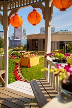 The Sonesta Baltimore's courtyard is an ideal venue for a reception or event!