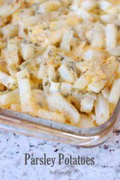 Parsley Potatoes (recipe) - NoBiggie.net