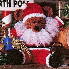 Santa Bear Crochet ePattern