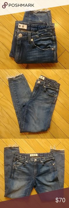 AMO jeans size 25 NWOT AMO jeans size 25 New without tags amo Jeans Ankle & Cropped