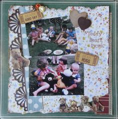 Kaisercraft Teddy Bears picnic
