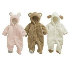 Aliexpress.com : Buy Winter Animal Onesie Fleece Jacket Coat for Boy Girl Baby Clothes Bear Pig Sheep from Reliable winther animal onesie Clothing Sets suppliers on Shenzhen Gonglang Electronic Technology Co., Ltd.
