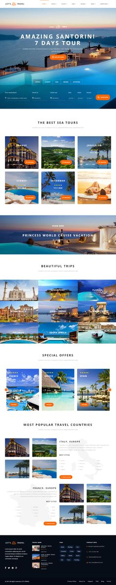 Let's Travel is Premium Responsive Retina Parallax #WordPress #Travel Theme. #VideoBackground. Bootstrap 3. Visual Composer. Test free demo at: http://www.responsivemiracle.com/lets-travel-premium-responsive-travel-booking-wordpress-theme/