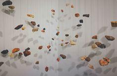 Installation, stones, natural material Street Gallery, Natural Materials, Paradise, Stones, Lost, Rocks, Heaven, Rock