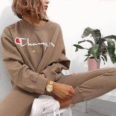 Living in this Weekday x Champion set