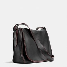 Saddle Bag Messenger 38 in Glovetanned Leather - Alternate View A2