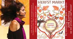 Kortingscoupon voor de Meander Herfstmarkt, 2 november, Nijmegen!