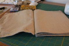 A tutorial for making a fabric book. The link takes you straight to the post on Shirley Hays' blog: Shade Tree Art. You can also follow the link within the tutorial to see how Shirley used her book.