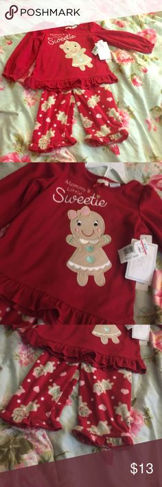 Christmas is coming! Christmas is coming! Comfy Holiday Outfit. New with tags; never warn! Koala Kids Matching Sets