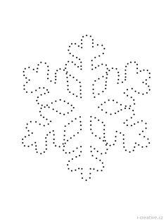 vločka sněhová spojovačka
